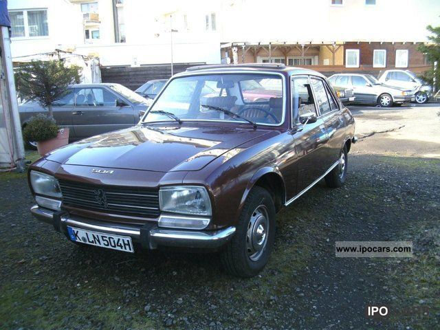 Peugeot  A11 504 GL, H-plates, State 3, Pininfarina 1976 Vintage, Classic and Old Cars photo