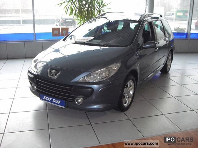 2008 peugeot 307 sw 2 0 hdi 136 km car photo and specs. Black Bedroom Furniture Sets. Home Design Ideas