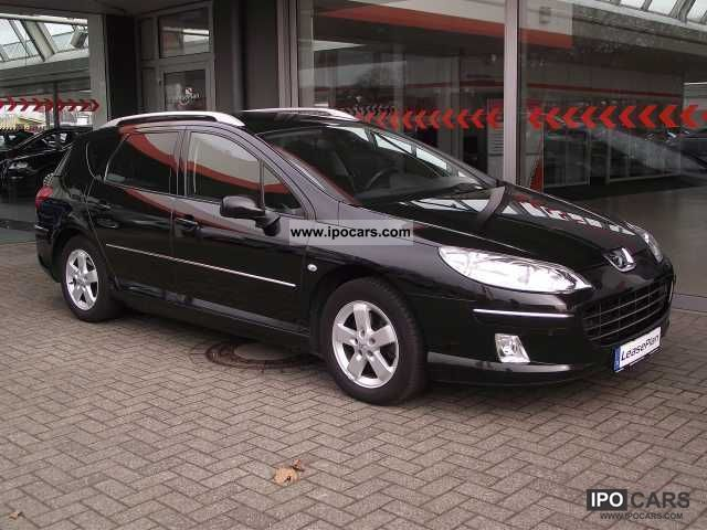 2008 Peugeot  407 SW 2.0 HDi 135 Sport Navi / Air / PDC / seat Estate Car Used vehicle photo
