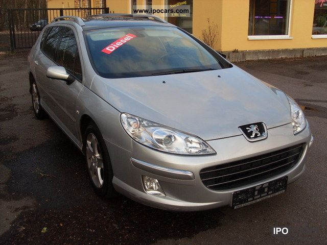 2008 Peugeot  407 SW HDi 170 Bi-Turbo * NAVI * LEATHER * PAN * Estate Car Used vehicle photo