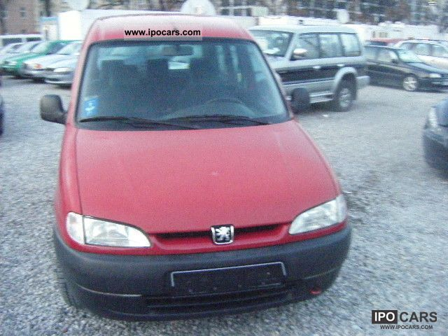 1998 peugeot partner 1.8i break - car photo and specs
