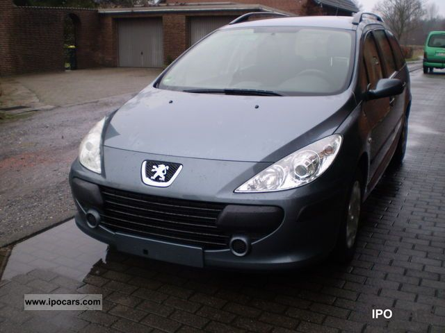 2008 peugeot 307 hdi break 90 tendance car photo and specs. Black Bedroom Furniture Sets. Home Design Ideas