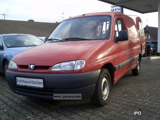 1997 peugeot partner - car photo and specs