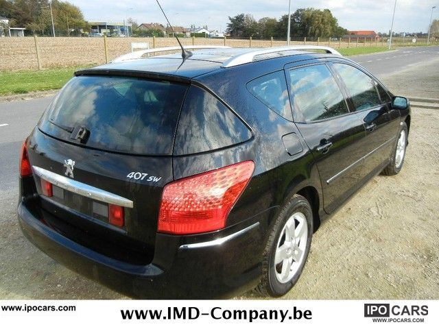 2008 peugeot 407 sw hdi 110 premium 16 car photo and specs. Black Bedroom Furniture Sets. Home Design Ideas
