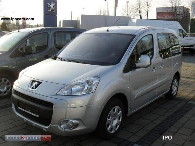 2011 Peugeot  PARTNERS Partners TRENDY 1.6 92 KM Van / Minibus Used vehicle photo
