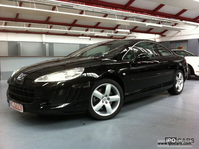 2011 peugeot 407 coupe v6 hdi fap 240 automatic platinum car photo and specs. Black Bedroom Furniture Sets. Home Design Ideas