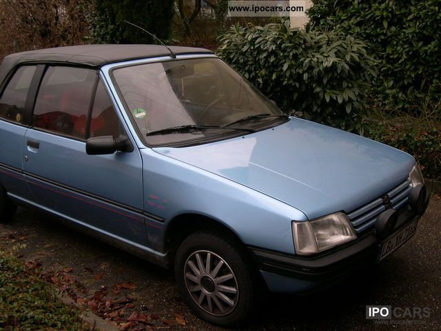 1992 Peugeot  205 CJ Cabrio / roadster Used vehicle photo