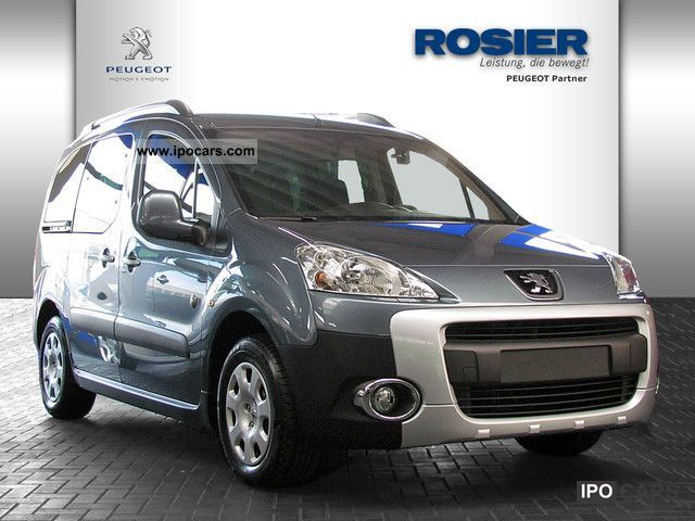 2011 Peugeot  Partner Tepee Outdoor HDI FAP 110 AIR SHZ PDC Estate Car Used vehicle photo