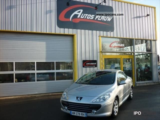 2008 Peugeot  307 2.0 HDI136 NAVTEQ FAP Cabrio / roadster Used vehicle photo
