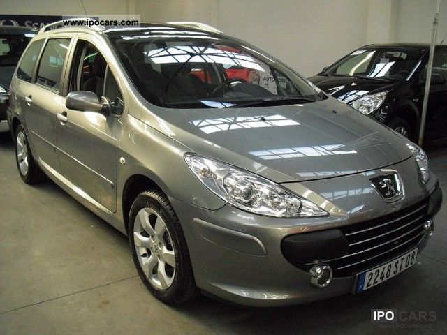 2008 peugeot 307 sw 2 0 sport hdi136 baa fap car photo and specs. Black Bedroom Furniture Sets. Home Design Ideas