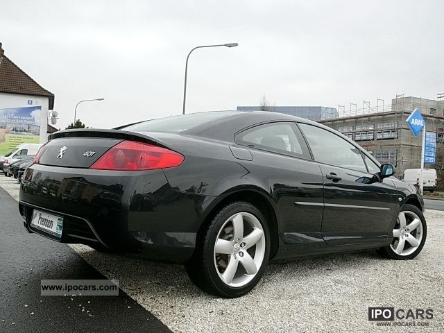 2008 peugeot 407 coupe sport 2 7 hdi 205 climate aluminium eph car photo and specs. Black Bedroom Furniture Sets. Home Design Ideas