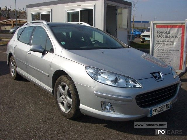 2008 peugeot 407 sw 1 6 hdi related infomation specifications weili automotive network. Black Bedroom Furniture Sets. Home Design Ideas