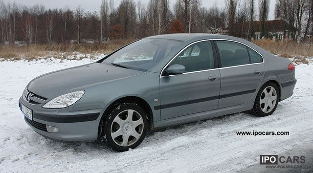 2003 peugeot peugeot 607 3 0 v6 210 km car photo and specs. Black Bedroom Furniture Sets. Home Design Ideas