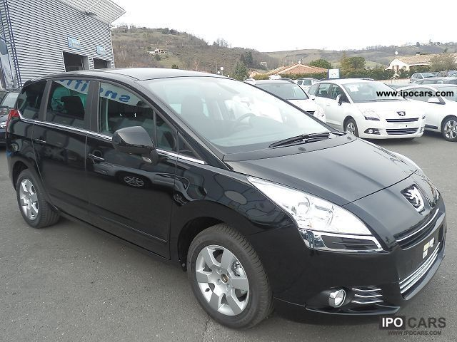 2012 peugeot 5008 1 6 hdi 112 active toit pano 7pl car photo and specs. Black Bedroom Furniture Sets. Home Design Ideas