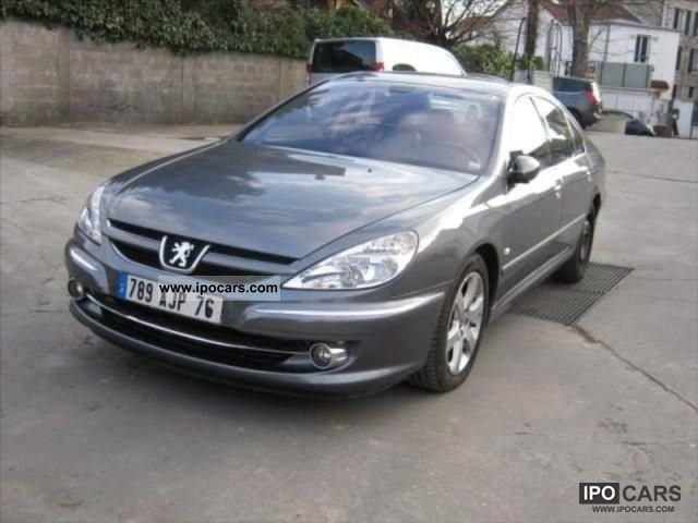 2008 peugeot 607 2 0 hdi fap 136ch feline car photo and specs. Black Bedroom Furniture Sets. Home Design Ideas