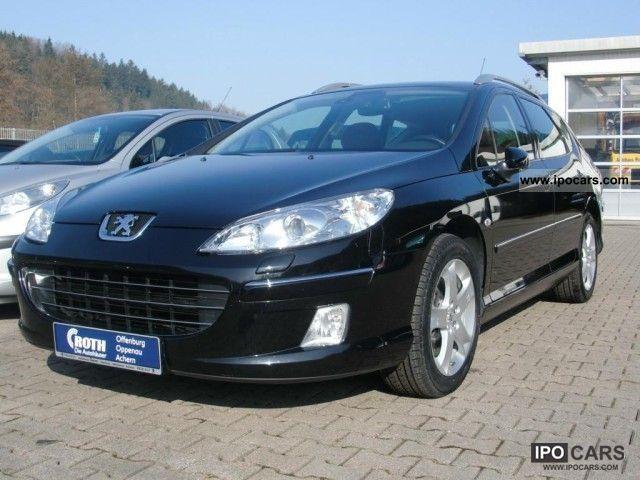 2008 Peugeot  407 SW 2.2 HDi FAP Turbo Bi-Xenon Pl climate Estate Car Used vehicle photo
