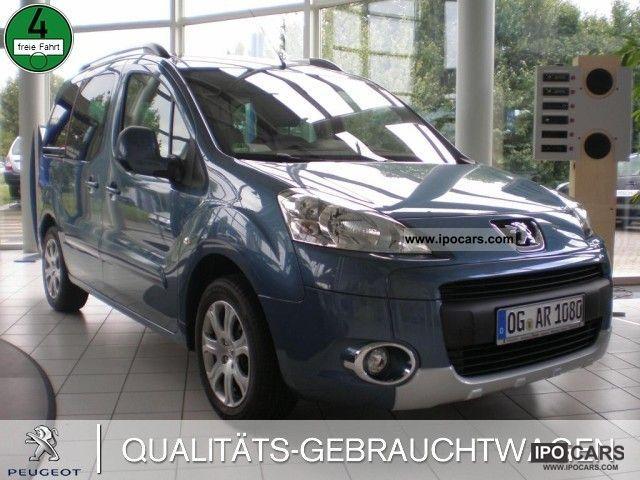 2011 Peugeot  1.6 16V VTi 120 partners Premiu Air MP3 CD Estate Car Used vehicle photo