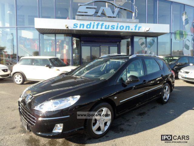 2011 Peugeot  407 SW 2.0 HDI 140 SIGNATURE GPS Estate Car Used vehicle photo