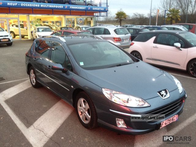 2008 peugeot 407 sw 1 6 hdi 110 premium car photo and specs. Black Bedroom Furniture Sets. Home Design Ideas