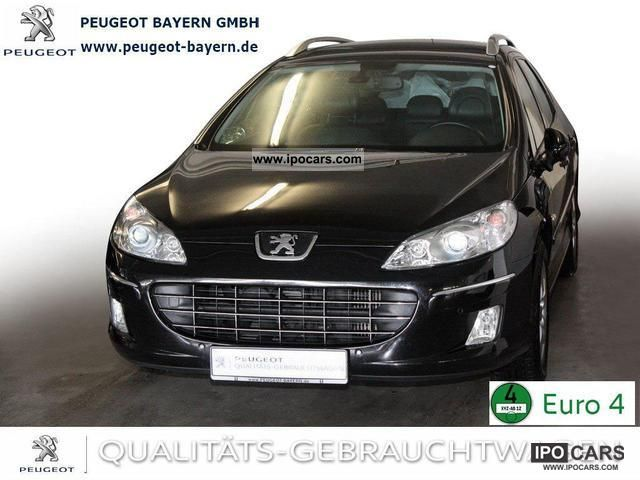 2009 Peugeot  407 SW HDi 135 * Navigation Business Line Heater Estate Car Used vehicle photo