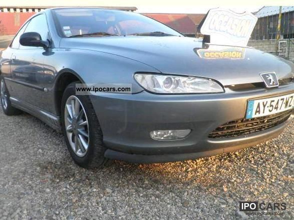 2002 peugeot 406 coupe 2 2 hdi car photo and specs. Black Bedroom Furniture Sets. Home Design Ideas