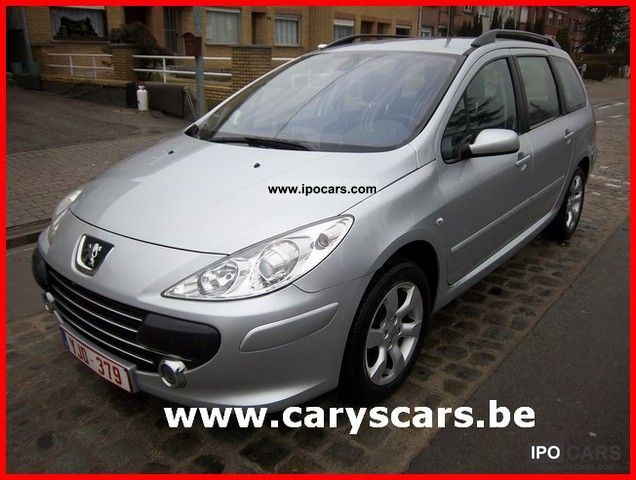 2008 Peugeot  307 1.6 HDi / CLIMA Estate Car Used vehicle photo