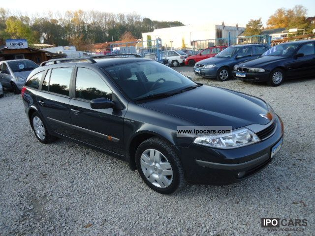 2002 Renault  Laguna1.9 dCi, GSHD, GEPFL TOP, MOT & NEW AU, 1.HAND Estate Car Used vehicle photo