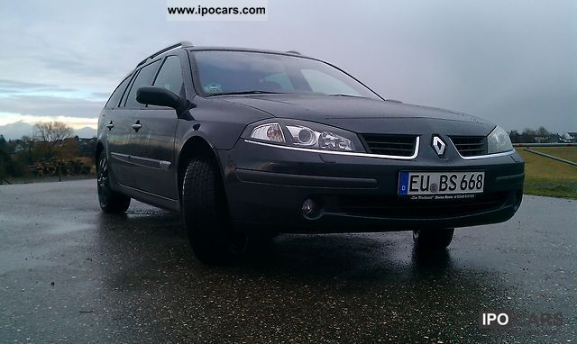 Renault  Laguna 2.0 16V LPG exception NAVI 2006 Liquefied Petroleum Gas Cars (LPG, GPL, propane) photo