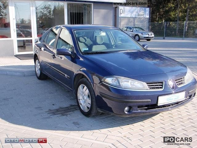 2007 Renault  Laguna 1.9 DCI bardzo Ładna Small Car Used vehicle photo