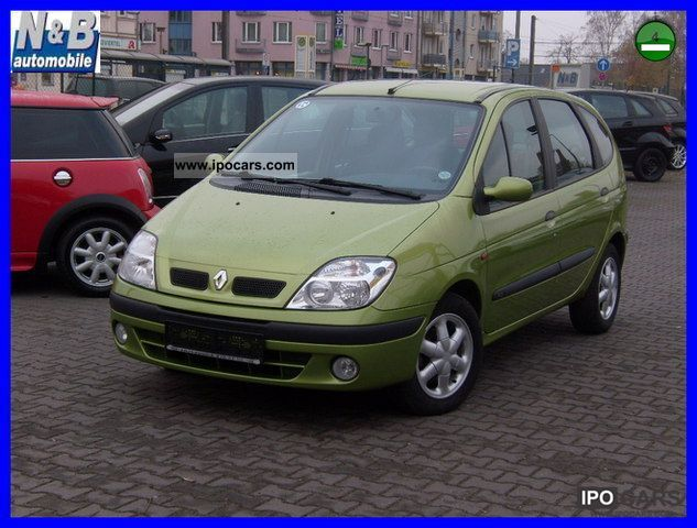 2000 renault scenic rxe 1 6 16v car photo and specs. Black Bedroom Furniture Sets. Home Design Ideas
