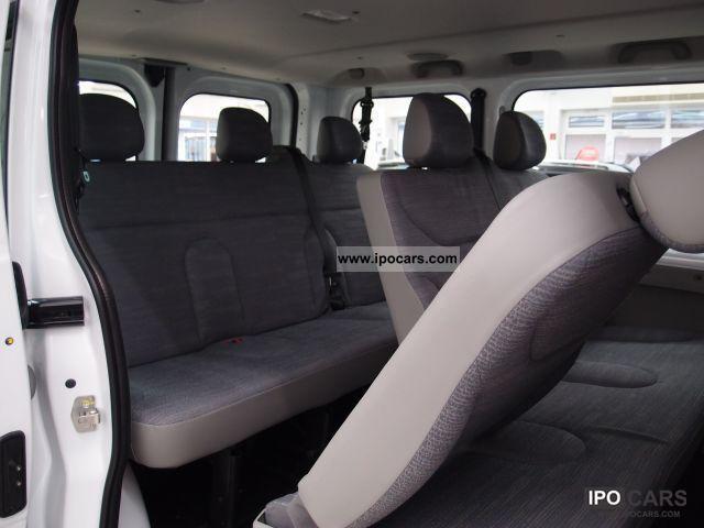 2011 Renault Trafic 2 0 Dci 90 Combi L1h1 9 Seater
