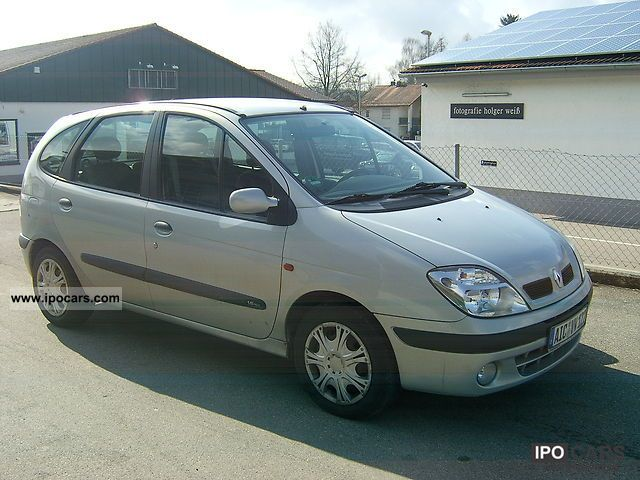 2000 renault scenic 1 6 16v rt car photo and specs. Black Bedroom Furniture Sets. Home Design Ideas