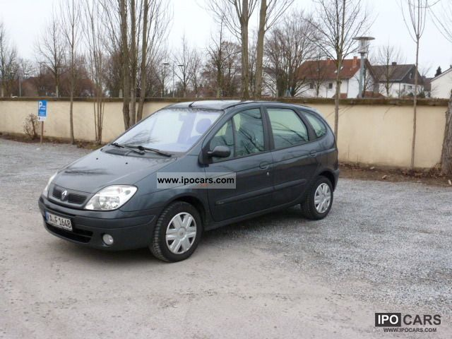2001 renault scenic 1 9 dci expression car photo and specs. Black Bedroom Furniture Sets. Home Design Ideas