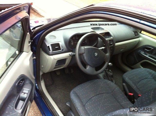 Renault Clio 2003 Interior 2003 Renault Clio 1 2 16v