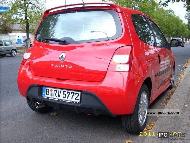 2010 renault twingo ii sportline 1 2 16v 55kw winterr de car photo and specs. Black Bedroom Furniture Sets. Home Design Ideas