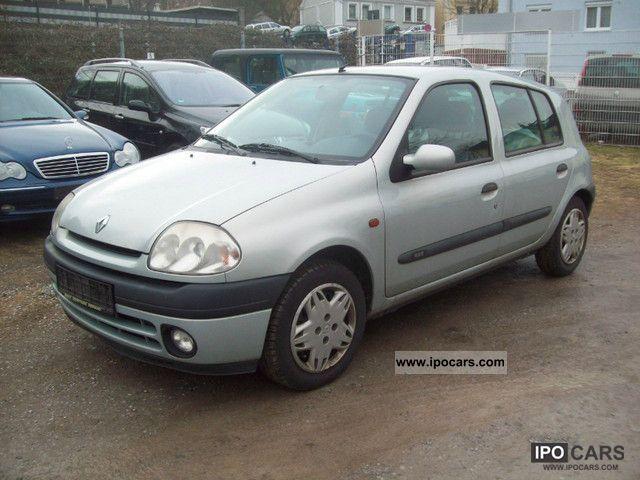 2000 Renault Clio 1 9 Rxe Dt Air 8 X Fachbereift El