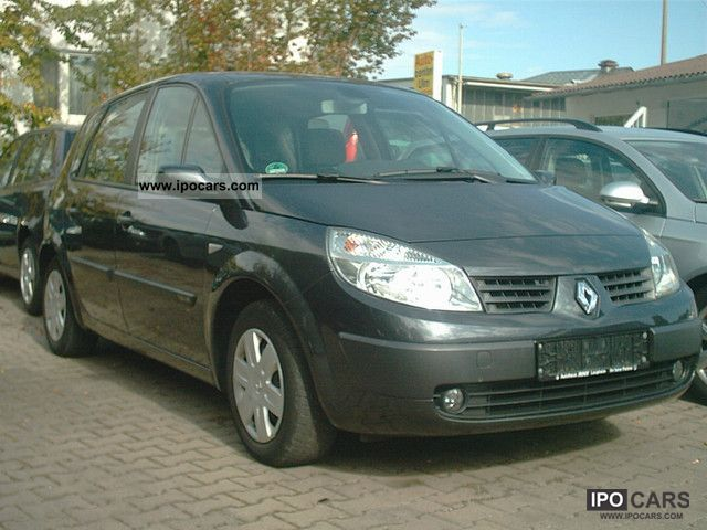 2005 Renault  Scenic 1.6 16V; Parktron.hi, cruise control, trailer hitch Van / Minibus Used vehicle photo