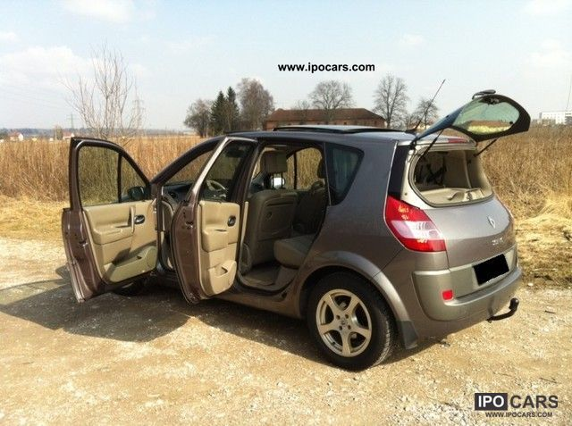 2003 renault scenic 1 9 dci privilege luxe car photo and specs. Black Bedroom Furniture Sets. Home Design Ideas