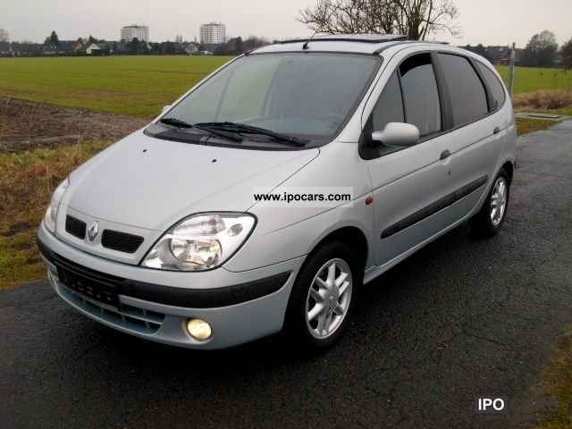 2000 renault megane scenic 1 9dti car photo and specs. Black Bedroom Furniture Sets. Home Design Ideas