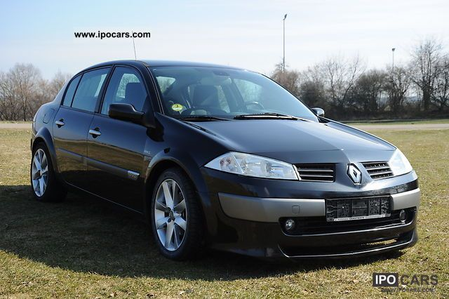2004 renault megane 1 9 dci dynamique luxe car photo and specs. Black Bedroom Furniture Sets. Home Design Ideas