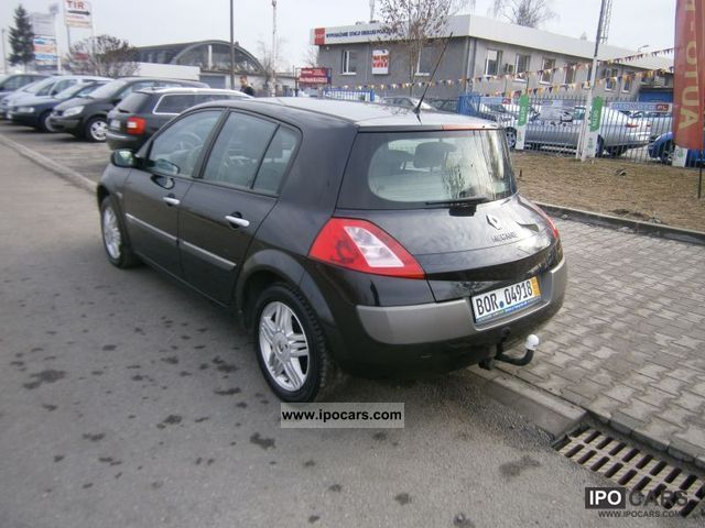 2004 renault megane 1 5 dci 85km air tronic car photo and specs. Black Bedroom Furniture Sets. Home Design Ideas
