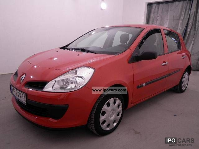 2008 Renault  Clio 1.2 16V Benzyna 2008 Small Car Used vehicle photo