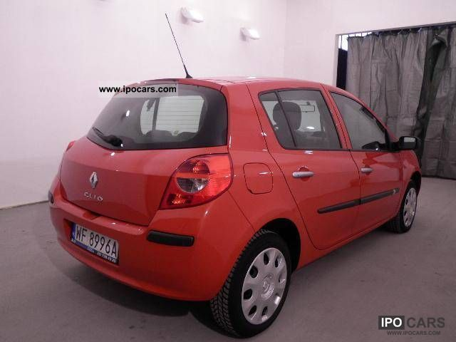 2008 renault clio 1 2 16v benzyna 2008 car photo and specs. Black Bedroom Furniture Sets. Home Design Ideas