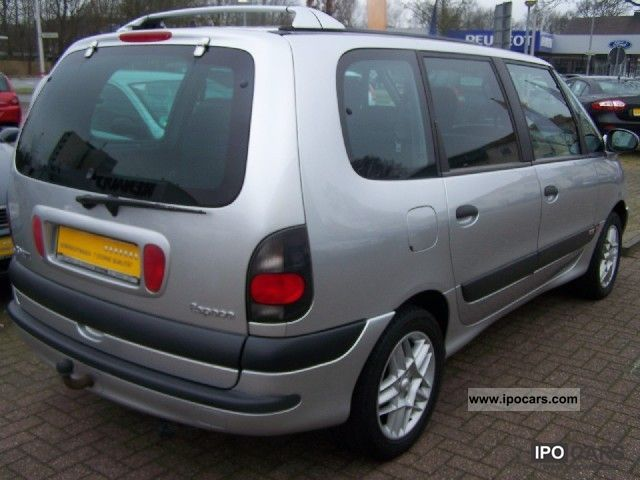 2001 renault espace 2 0 initial car photo and specs. Black Bedroom Furniture Sets. Home Design Ideas
