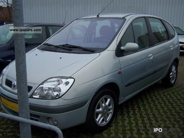 2002 renault scenic 1 6 16v expression car photo and specs. Black Bedroom Furniture Sets. Home Design Ideas
