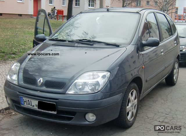 2002 renault scenic 1 9 dci car photo and specs. Black Bedroom Furniture Sets. Home Design Ideas