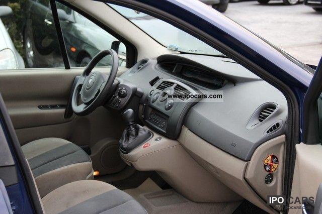 Renault Scenic 2005 Interior 2005 Renault Grand Scenic 1 5