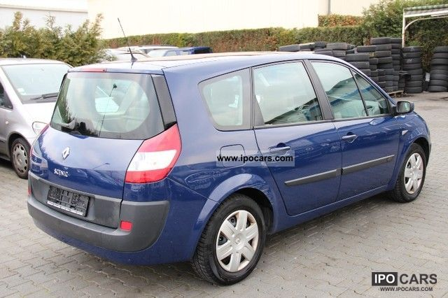 2005 renault grand scenic 1 5 dci avantage panorama 7 sitzer car photo and specs. Black Bedroom Furniture Sets. Home Design Ideas