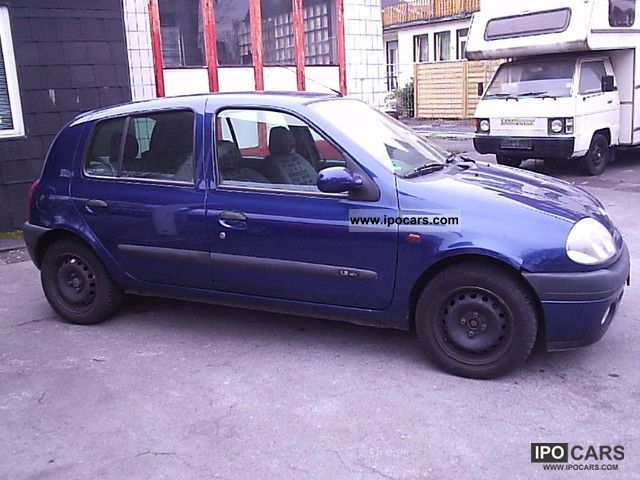 2001 renault clio 1 2 16v rt car photo and specs. Black Bedroom Furniture Sets. Home Design Ideas