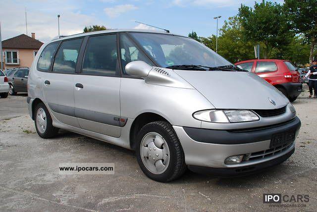1998 Renault  Espace RXE 3.0 V6 Automatic * Air * Sitzheiz. * AHK Van / Minibus Used vehicle photo